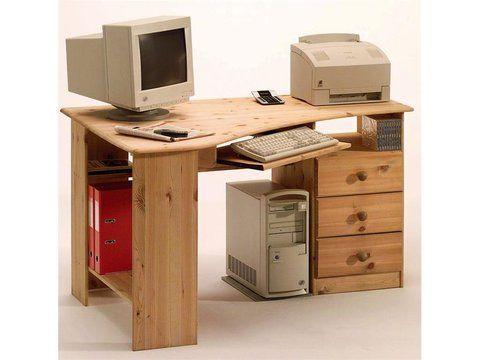 Steens Eckschreibtisch Kent Mit Tastaturauszug In 2020 Eckschreibtisch Schreibtisch Burowande