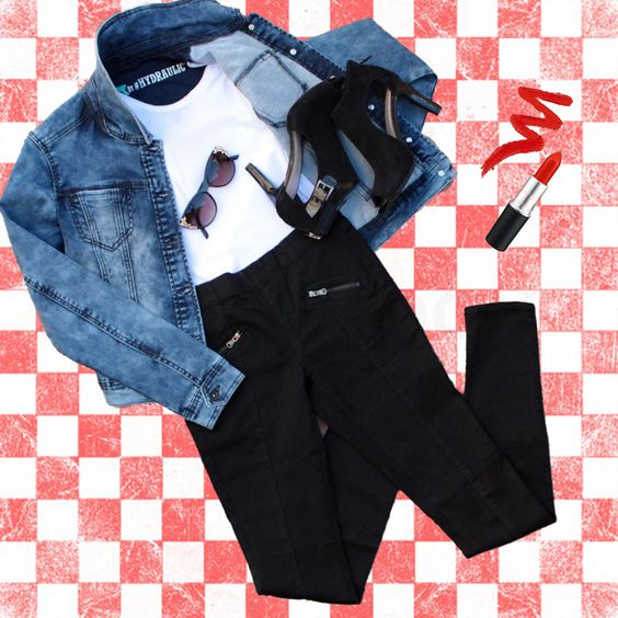 Denim x Halloween Greaser Babe Costume with Hydraulic Emma Jeans and The Traveling Jean Jacket  Although Halloween is a spell away, we thought we'd help you out with easy-to-make costumes that everyone will love using pieces you already have in your closet!  Use Promo Code: OCTDENIM to save $10 through 10/31