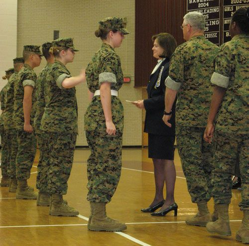 The Marine Corps has a place for men and women at all levels.