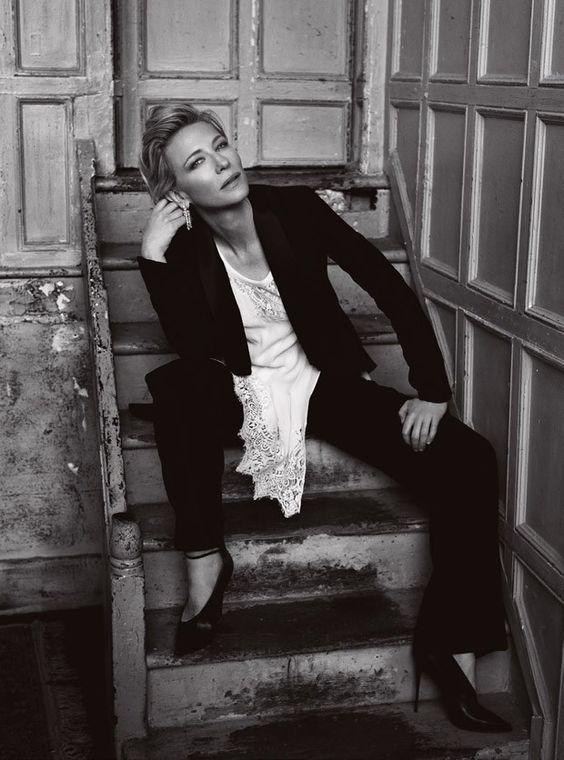 Cate Blanchett for Harpers Bazaar UK by Norman Jean Roy #Cate_Blanchett #Woman #Beauty