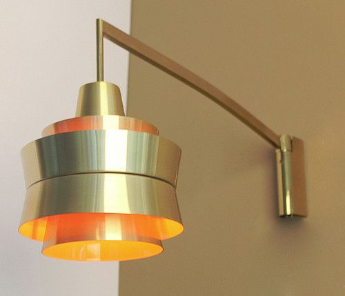 Vintage Danish Wall Lights : Vintage Carl Thore Danish Modern Wall Light Lamp Sconce Eames Fog Morup 60s mid century love ...