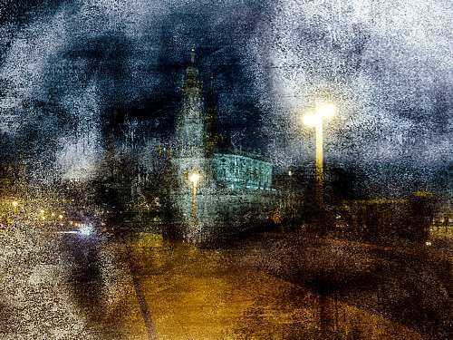 """Robert Gärtner, """"Dresden""""  With a click on 'Send as art card', you can send this art work to your friends - for free!"""