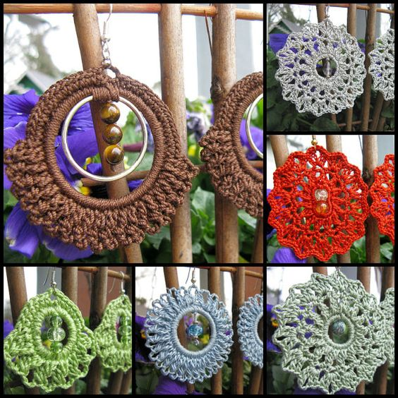 PATTERN TH38E in PDF with Video Tutorial for Beaded Pinwheel Crochet ...
