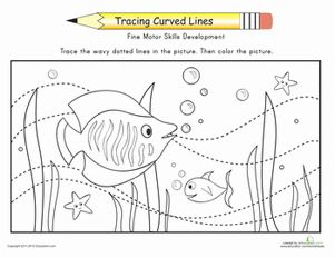 Printables Fine Motor Skills Worksheets places fine motor and the ojays on pinterest preschool skills worksheets motion of ocean worksheet