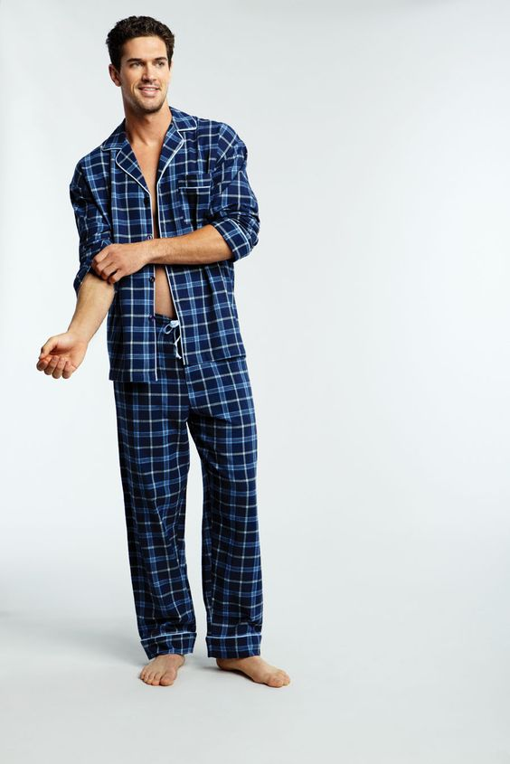 Royal Plaid Flannel Classic PJ | Bedhead Men | Pinterest | Plaid ...