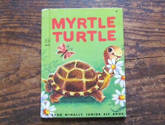 Vintage Book Myrtle Turtle by Diane Sherman by VintagePolkaDotcom