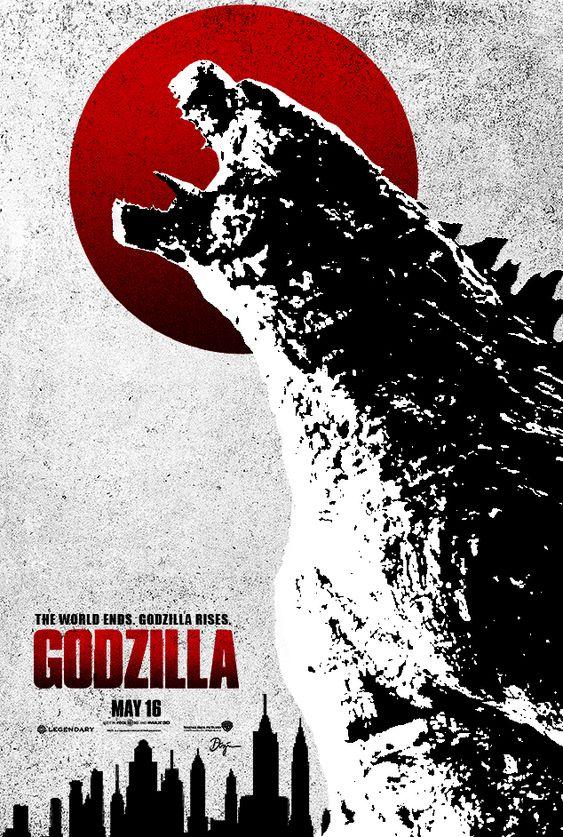 Godzilla Poster B by sahinduezguen on DeviantArt