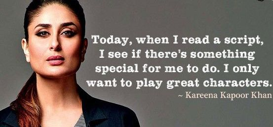 Kareena Kapoor Quotes Inspirational Quotes Quotes Quotations