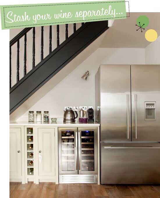Kitchen layouts under stairs and layout on pinterest for Kitchen designs under stairs