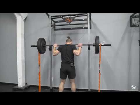 Banded Barbell Squat - YouTube | Barbell squat, Squats, Barbell