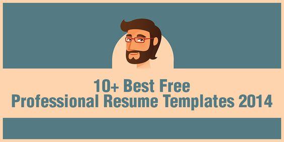free resume templates 2014