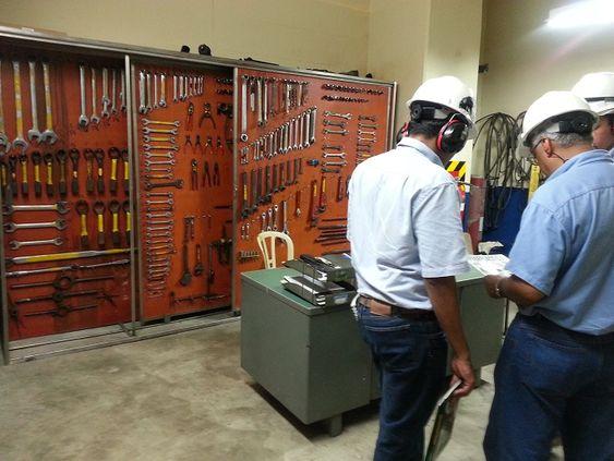 Aparador Laqueado ~ Estantería armario para herramientas y equipos anaquel escaparate organizador de repuestos
