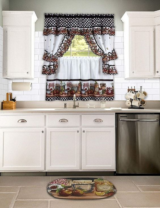 10 Amazon S Best Curtains For Kitchen To Buy Now Kitchen Curtain