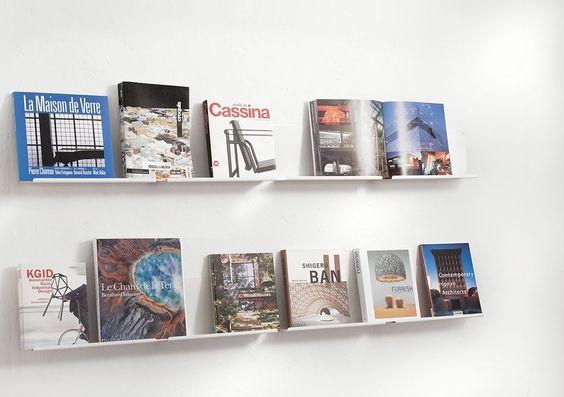 Estantes de pared para la exposici n de libros teebooks - Estantes para libros ...