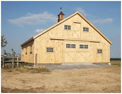 Horse Barn Plans Barn Plans And Building Plans On Pinterest