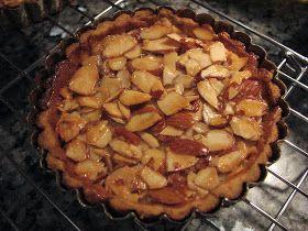 I'll Eat You: Caramelized Almond Tart