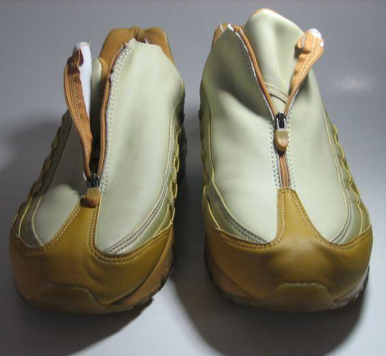 huge discount 93c4f 1ddf6 ... Nike Air Max 95 Mustard Zipper EUC Very RARE 10.5 10 12 2001 Release OG  Air ...