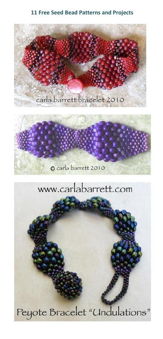 #ClippedOnIssuu from Making beaded jewelry 11 free seed bead patterns and projects