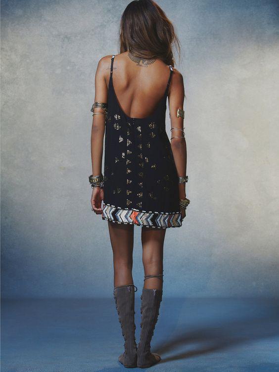 Dress, details, glatiator sandals, bohemian style, boho, boho chic, dress