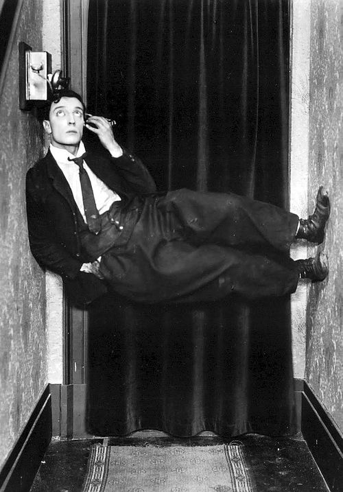Tragedy is a close-up; comedy, a long shot. —Buster Keaton: