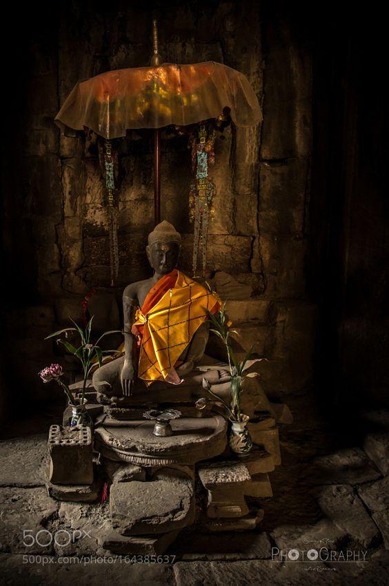 Hidden buddha by HeikeSommer-SummerTime.
