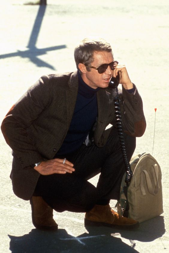 Steve McQueen. True style never goes out if fashion.