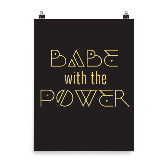 Babe with the Power 2.0 Poster