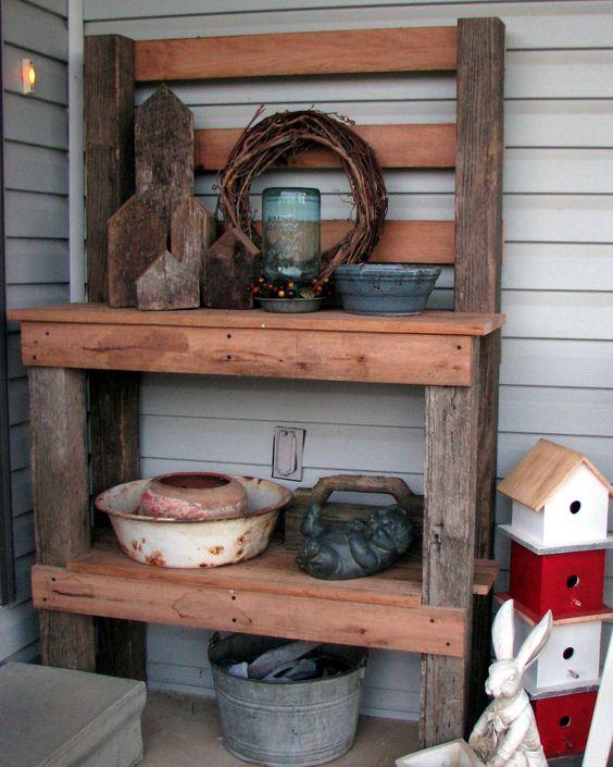 gardening tables/benches | Primlivinonsacriver's Blog | Decorating, antiques, trash to treasure ...