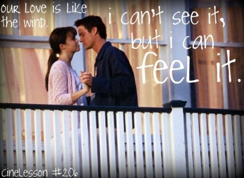 a walk to remember quotes love is like the wind - photo #35