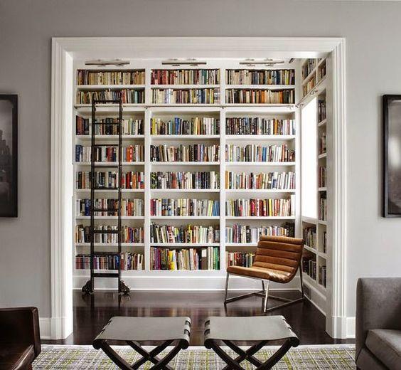 Coin lecture cosy, moderne, kitch. Trouvez des idées d#étagères ...