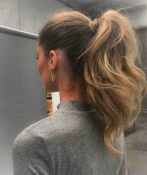 26 Populer Ponytail Hairstyle For Job Interview In 2020 Easy Hairstyles Job Interview Hairstyles Messy Ponytail Hairstyles