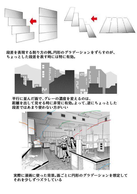 篠房六郎 On Digital Art Tutorial Comic Layout Art Reference Photos