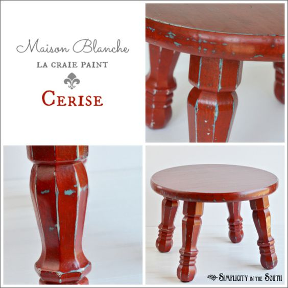 Maison Blanche La Craie Paint In Cerise The Little Red