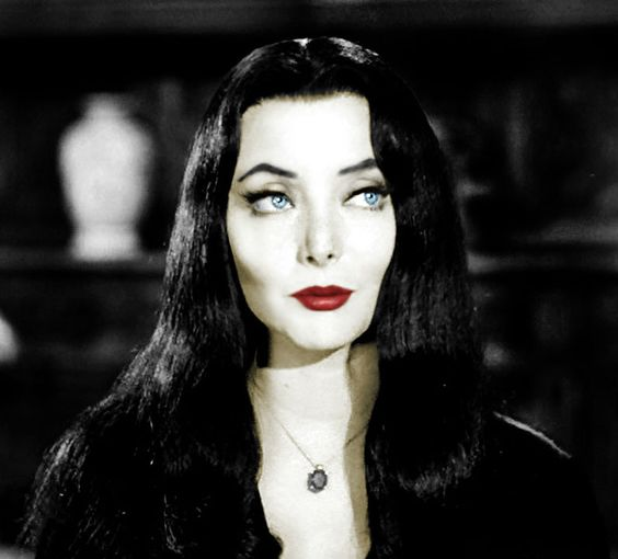 "' We gladly feast on those who would subdue us. Not just pretty words."" Morticia Addams"