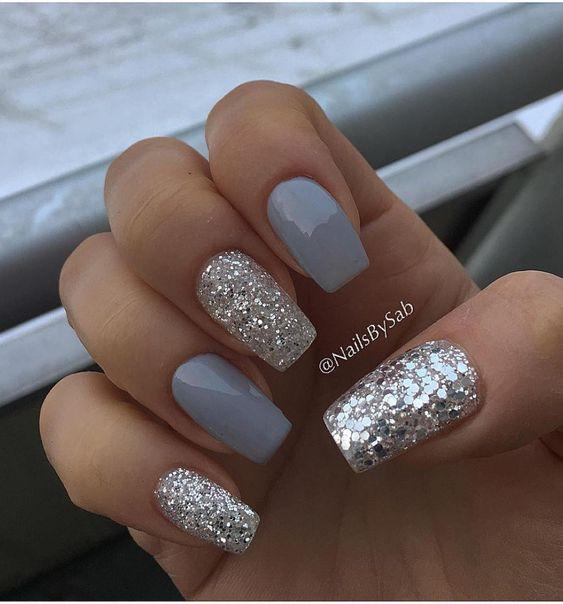 41 eye-catching mismatched nail art design ideas
