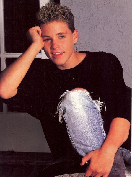 corey haim <3 ..the way i remember him. december 23, 1971 - march 10, 2010