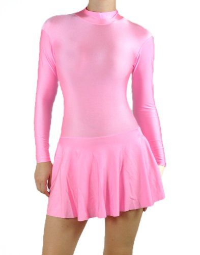 Light Pink Spandex Ice Skating Dress 3XL  Sissy Things to Wear ...