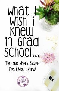 What I Wish I Knew In Grad School (Time and Money Saving Tips): Speech Time Fun