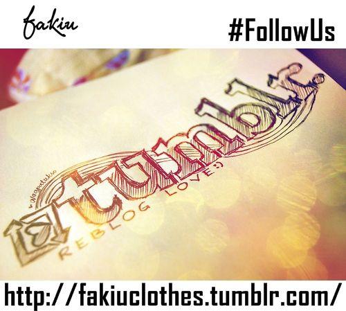 Seguinos en #Tumblr  #FollowUs http://fakiuclothes.tumblr.com/ *********************************************
