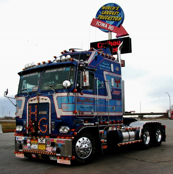 Photos And More: Highway Hank's 1981 KW Goes To Trucking