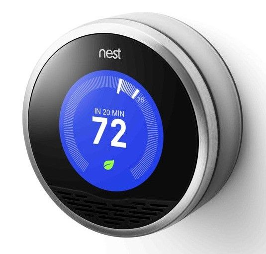 Nest Learning Thermostat. Learns your heating and cooling habits. Turns itself down when you're away and vice versa. Saves you a heap on heating/cooling and can also be controlled via an app. Winner!