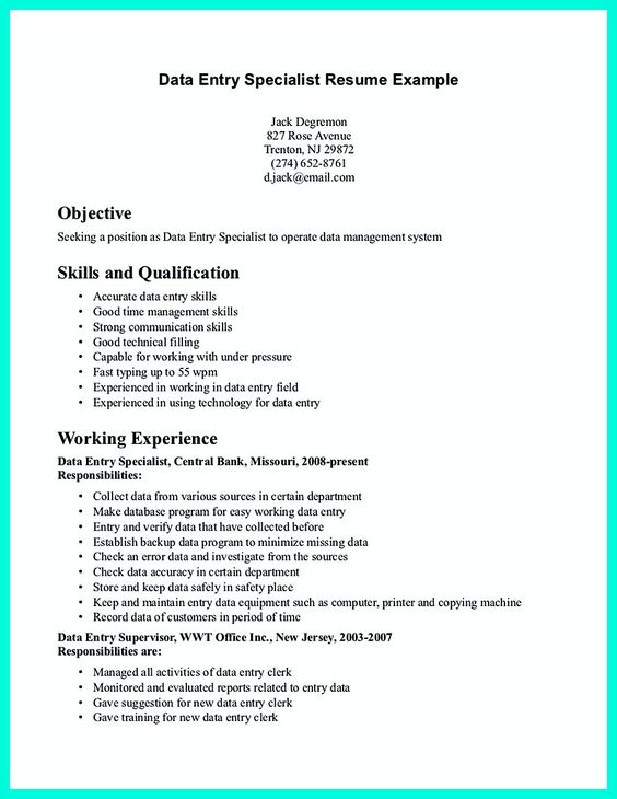 data entry  job description and get the job on pinterest