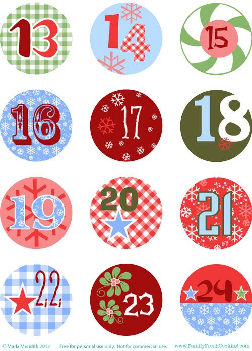 It's just an image of Juicy Printable Christmas Numbers