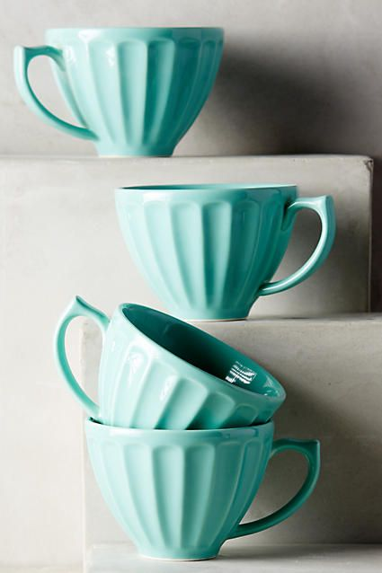 mint latte mugs
