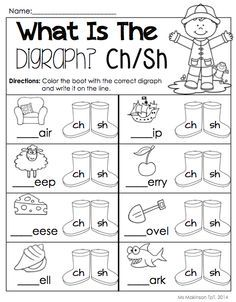 Printables Kindergarten Worksheets Pdf free sh sound worksheets pdf google search zipporah search