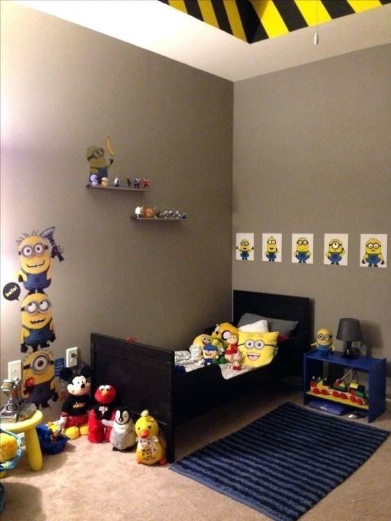 Despicable Me Bedroom Ideas Minion Room Minion Room Decor
