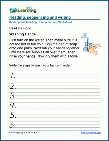 Sequence Of Events Worksheets Reading Comprehension Worksheets Sequencing Worksheets Kindergarten Sequencing Worksheets