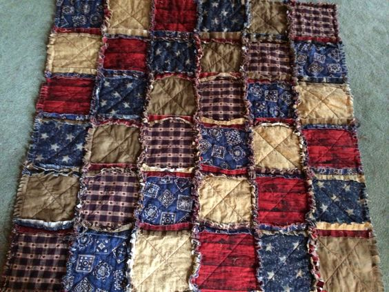 Western baby rag quilt by TsCraftsandQuilts on Etsy https://www.etsy.com/listing/194895398/western-baby-rag-quilt