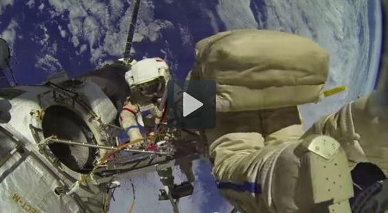 Emotiu vídeo de la NASA des de l'Estació Espacial Internacional