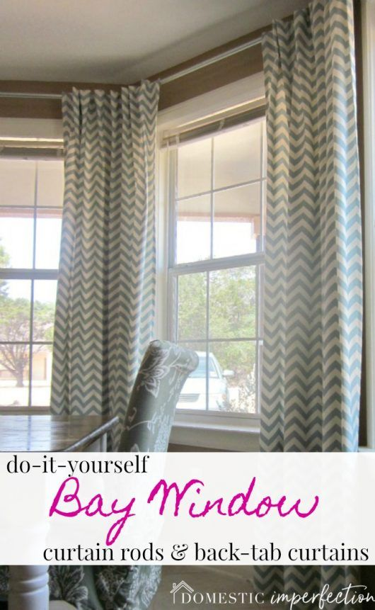 Bendable Curtain Rods For Bow And Bay Windows Bay Window